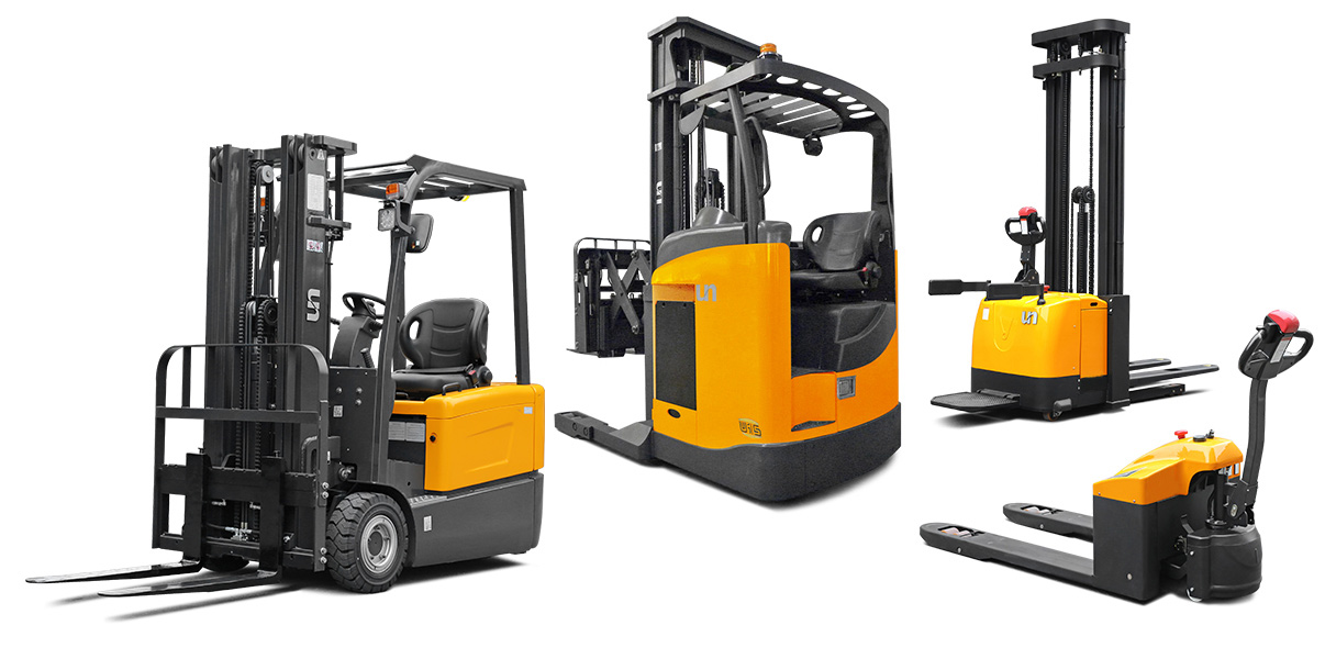 New and used Fork Lifts